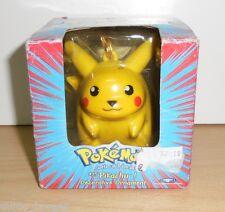 PIKACHU #25 Decorative ornament Pokemon figure figurine1998 - 3,5'' NEW