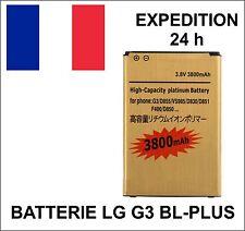 batterie BL-PLUS HAUTE CAPACITE Gold 53YH 3800 mAh pour LG G3