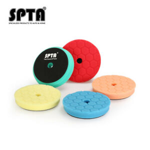 "SPTA 3""/5''/6''/7'' Hex Logic Polishing Pads Buffing Pads For Auto Car Polisher"