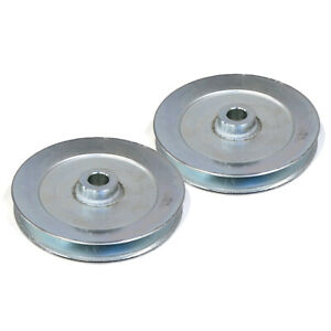 (Pack of 2) OEM SPINDLE PULLEYS for Toro 110-6864 / 125-5574  Lawn Mower Tractor