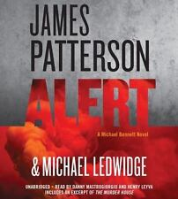 ALERT unabridged audio book on CD by JAMES PATTERSON - Brand New!