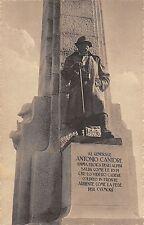 C4914) CORTINA D'AMPEZZO (BELLUNO) ALPINI PARTICOLARE DEL MONUMENTO A CANTORE.