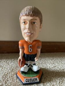 Jay Cutler Chicago Bears Exclusive Knuckleheads Bobblehead Orange Jersey