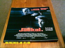 The Jackal (richard gere, bruce willis) Movie Poster