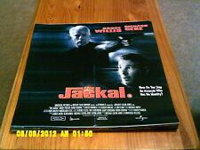 The Jackal (richard gere, bruce willis) Movie Poster