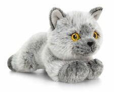 Keel Toys Signature 30cm British Shorthair Cat / Kitten Cuddly Soft Toy SC0950