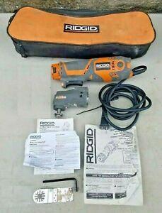 Ridgid R2850 120V Corded Electric JobMax Device with Multi-Tool Attachment Head
