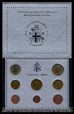 VATICANO 2003 - DIVISIONALE UFFICIALE MONETE  EURO PAPA GIOVANNI PAOLO II - FDC