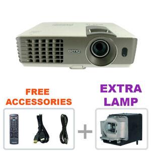 REFURBISHED - BenQ MX710 DLP HD 3D Projector Home Theater w/bundle + EXTRA LAMP