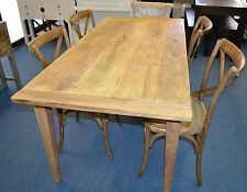 Recycled Rustic  Elm Wood  Rustic  Dining Table  180cm long x85wide