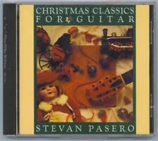 STEVAN PASERO - CHRISTMAS CLASSICS FOR GUITAR - NEW CD