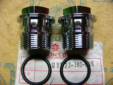 Honda CB 750 Four K0 K1 K2 Gabelholmschrauben Set incl. O- Ring Bolt, front fork