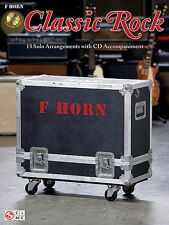 Instrumental Play-Along For French Horn-Classic Rock-13 Solos Music Book/Cd-New!