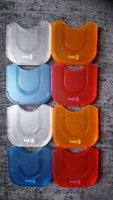 8 x  UMD Cases for PSP (2 x Clear, 2  x Orange, 2 x Blue and 2 x Red)