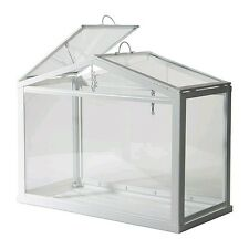 Greenhouse Planter Box Garden Pot Folding Roof Window Herb Flower Care Supplier