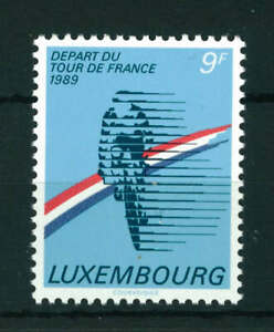 Luxembourg 1989 Tour de France Cycling Race stamp. MNH. Sg 1246