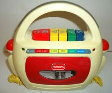 1993 HASBRO PLAYSKOOL CASSETTE PLAYER/RECORDER TESTED-DUAL MICROPHONES!