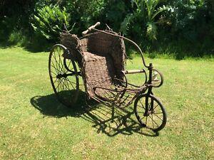 vintage victorian bath bike