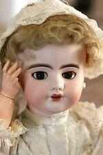 Antike Französische Schelmenaugen  Puppe von  SFBJ 8  Laufpuppe 55 cm Gross