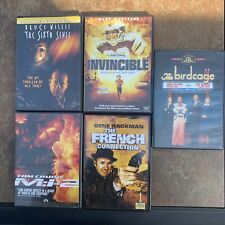 Dvd Movies Mi2 French Connection Sixth Sense Invincible Birdcage Lot Of 5 M1