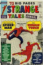 Strange Tales  Annual #2 Facsimile Reprint Cover Only Key Torch & Spider-Man