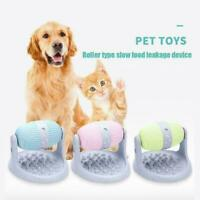 Cat Dog Roller Ball Toy Food Dispensing Snack Toy Roll Training Food T1Y5