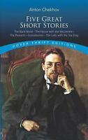 Five Great Short Stories Paperback Anton Pavlovich Chekhov