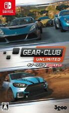 USED Nintendo Switch GEAR CLUB UNLIMITED JAPAN import Japanese game
