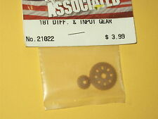 21022 Team Associated Radio Controlled Car Spares 18T Differential & Input Gear