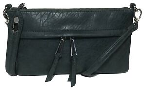 NWT Jessica Simpson Woman's Clutch X-Body, Forest, Adjustable/Detachable Strap