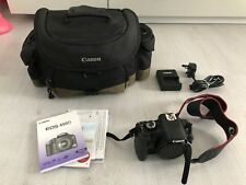 Canon EOS 450D / Rebel XSi 12.2MP Digital SLR Camera Black (Body, Bag & Charger)