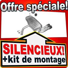 Silencieux Arriere AUDI A3 (8P1) 1.4 2.0 Hayon échappement AFE