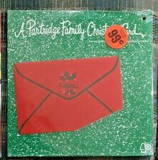 SEALED PARTRIDGE FAMILY CHRISTMAS CARD Shirley Jones David Cassidy