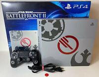 Sony PlayStation 4 Slim Star Wars Limited Edition 1TB PS4 Konsole gebraucht OVP