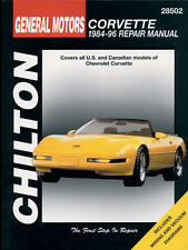 Chilton Repair Manual Chevrolet Corvette, 1984-96 #28502