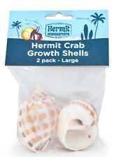 FLUKER'S HERMIT CRAB LARGE SHELLS STYLES VARY 2 PK FREE SHIPPING IN THE USA ONLY