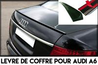 SPOILER LAME COFFRE BECQUET AILERON pour AUDI A6 C6 05-10 TDI FSI Sline Quattro