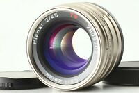 ** MINT ** Contax Carl Zeiss Planar T* 45mm f/2 G Lens 35mm Camera Japan 0542