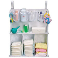 Large Baby Crib Cot Bed Nursery Storage Bag Hanging Diaper Organizer Tidy Pocket