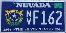 GENUINE American Nevada Battle Born 1864-2014 USA Licence License Plate F162