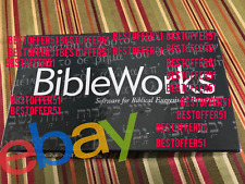 Bibleworks 10 (Windows/Mac) Complete !Limited Stock!