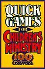 Quick Games for Childrens Ministry