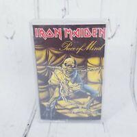 Iron Maiden Piece Of Mind CASSETTE TAPE 1995 Castle bruce dickinson 105-4
