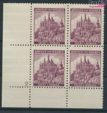 Bohemen en Moravië 27 met Nummerplaat postfris MNH 1939 Ruttenberg (9310345