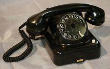 Lesen: KAPSCH Telefon 121 mit Wählscheibe vintage Deko old 1957, sehr schön! W48