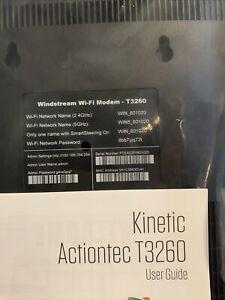 Windstream Modem Kinetic T3260