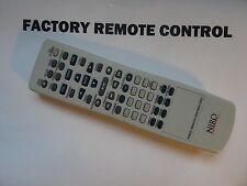NIRO NIRO1.1 DVD REMOTE CONTROL