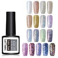 8ml LEMOOC Glitter Esmaltes de Uñas en Gel UV LED Polish Base Top Coat 97 Colors
