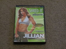 Super Jillian Michaels Shred-It with Weights fitness dvd - 2 30-minute workouts