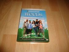 WEEDS PACK SERIE DE HUMOR EN DVD 1ª TEMPORADA CON 2 DISCOS USADA